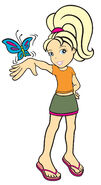 PollyPocket 2006 butterfly
