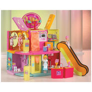 Polly Pocket Designer Mall Playset Polly