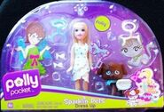 Polly Pocket Sparklin' Pets Dress Up Polly