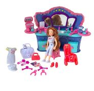Polly Pocket Club Groove Glamour Lounge Lea Doll