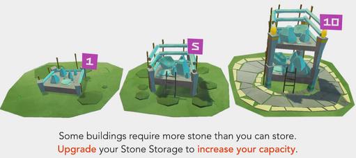 PolyCraft - Splash Stone Storage