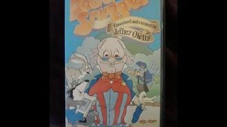 Original VHS Closing Doctor Snuggles (UK Pre cert Tape)