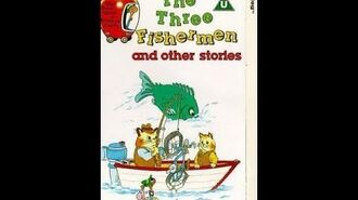 Original VHS Closing The Busy World Of Richard Scarry The Three Fishermen (UK Retail Tape)