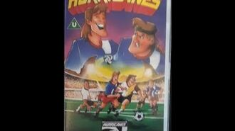 Original VHS Opening Hurricanes Hot Dog Reunion In Rio (UK Retail Tape)