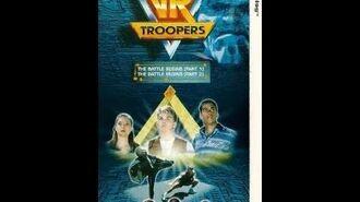 Original VHS Opening VR Troopers Volume 1 (UK Retail Tape)