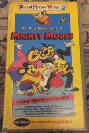 2-VHS-Video-Tapes-The-New-Adventures-Of