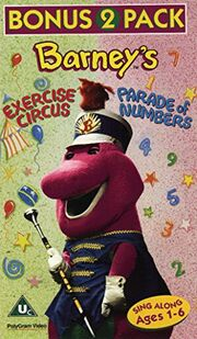 Barney'sExerciseCircus&ParadeofNumbers
