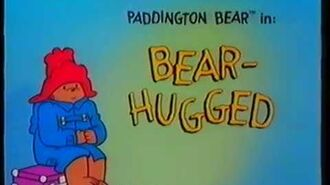 Original VHS Opening Paddington Bear Bear Hugged (UK Retail Tape)
