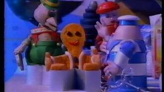 Original VHS Opening The Gingerbread Man - More Tales from the Kitchen (UK Retail Tape)
