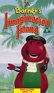 Barney'sImaginationIslandUKVHS