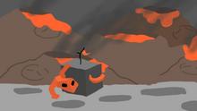 Lava Lizard and Ashpple
