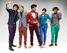One direction color suits