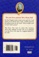 Pony Pals 10 Dont Hurt My Pony back cover