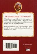 Pony Pals 9 The Wild Pony back cover