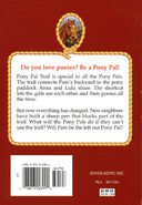 Pony Pals 12 Keep Out Pony back cover