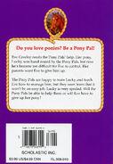 Pony Pals 24 Unlucky Pony back cover