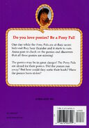 Pony Pals 20 Stolen Ponies back cover