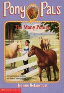 Pony Pals 6 Too Many Ponies cover