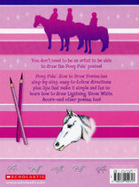 Pony Pals How to Draw Ponies back cover