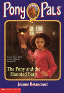 Pony Pals 36 The Pony and the Haunted Barn front cover
