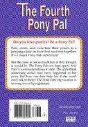 Pony Pals Super Special 4 The Fourth Pony Pal back cover