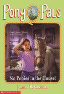 Pony Pals 37 No Ponies in the House front cover