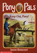 Pony Pals 12 Keep Out Pony cover