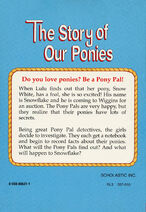 Pony Pals Super Special 2 The Story of Our Ponies back cover