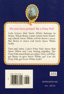 Pony Pals 4 Give Me Back My Pony back cover