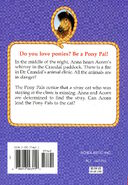 Pony Pals 17 Detective Pony back cover