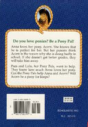 Pony Pals 2 A Pony for Keeps back cover