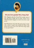 Pony Pals 8 Good-Bye Pony back cover