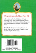 Pony Pals 19 Moving Pony back cover