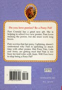 Pony Pals 6 Too Many Ponies back cover