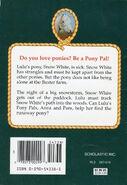 Pony Pals 7 Runaway Pony back cover