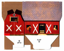 Pony Pals Club barn side 1