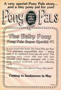 Pony Pals Super Special 1 Baby Pony bookad from PP9