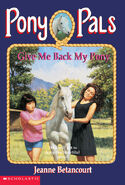 Pony Pals 4 Give Me Back My Pony cover