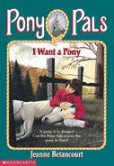 Pony Pals 1 I Want a Pony cover