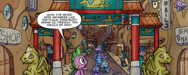 File:MLP IDW- Friends Forever- Issue 14- Dragons.png