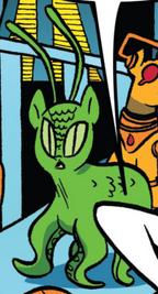 Comic issue 24 alien pony
