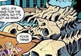 Comic issue 17 hydra skeleton
