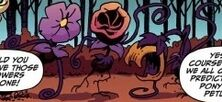 Comic issue 3 carnivorous flowers