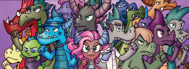 File:My Little Pony - Friends Forever 14 - Dragons.jpg