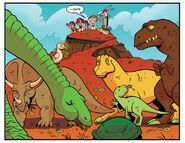 MLP IDW Issue 24 Dinosaurs