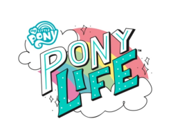 My Little Pony Pony Life logo