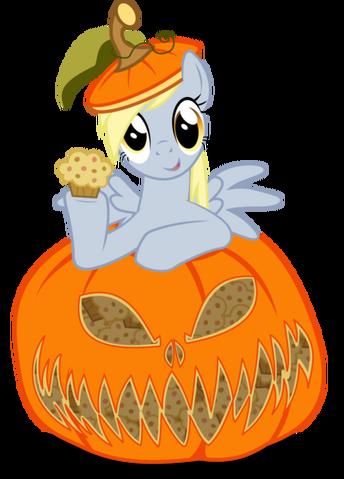 File:Derpy in pumpkin by up1ter-d5hv9gh-1-.png