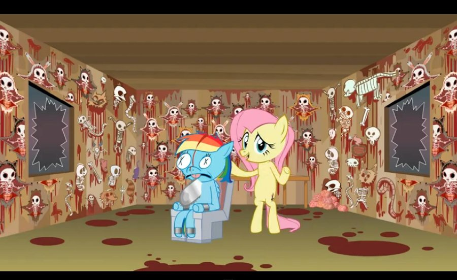 image shed mov fluttershy it s not what it looks like by