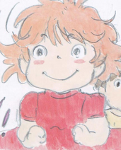 Ponyo Sketch
