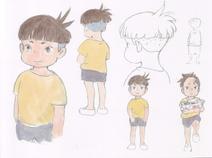 Sosuke original sketches